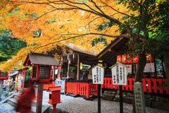 Torii gates in Fushimi Inari Shrine, Kyoto, Japan Royalty Free Stock Photos