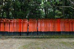 Torii gates at Fushimi Inari-Taish shrine Stock Photos