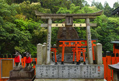 Torii gates at Fushimi Inari-Taish shrine Stock Photography