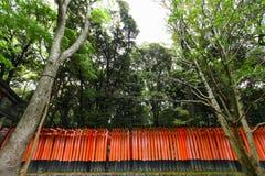 Torii gates at Fushimi Inari-Taish shrine Stock Image