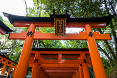 Torii Gates Royalty Free Stock Photography