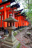 Torii gates of Fushimi Inari Shrine in Kyoto, Japan Royalty Free Stock Photo