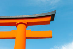 Torii or holy red gate Stock Images