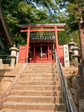 Torii japanese gate Royalty Free Stock Photo