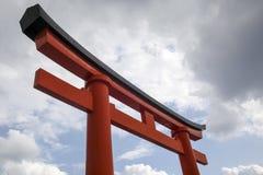 Torii japonés Imagen de archivo libre de regalías