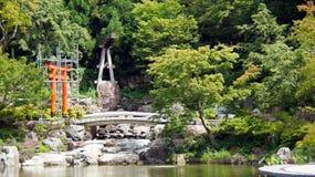 Torii of Katsuoji temple in Japan Royalty Free Stock Photo