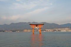 torii miyajima Στοκ φωτογραφία με δικαίωμα ελεύθερης χρήσης