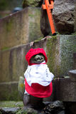 Torii rojo en Japón Fotos de archivo libres de regalías