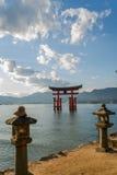 Torii utfärda utegångsförbud för Royaltyfria Foton