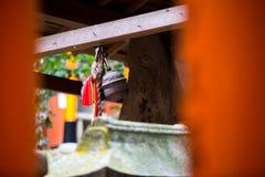 Torii vermelho em japão Fotografia de Stock Royalty Free