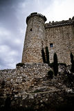 Torija´s Castle in Spain , defense tower Stock Photography