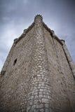 Torija´s Castle in Spain , defense tower Stock Images
