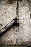 Torija´s Castle in Spain , defense tower Stock Image