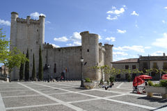 Torija castle, Spain Royalty Free Stock Images