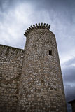 Torija´s Castle in Spain , defense tower Stock Photography