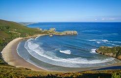 Torimbia beach, Cantabria, Spain Stock Image