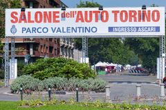 Torino Auto Show - Third edition 2017 Stock Photography