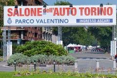 Torino-Automobilausstellung - dritte Ausgabe 2017 Stockfotografie