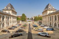 Torino-Automobilausstellung - dritte Ausgabe 2017 Stockbild