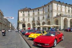 Torino-Automobilausstellung - dritte Ausgabe 2017 Lizenzfreie Stockbilder