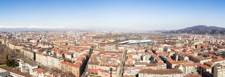 Torino dalla talpa Fotografie Stock