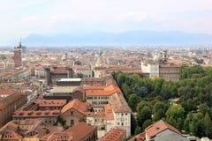 Torino e il Palazzo Reale in Italia immagine stock libera da diritti