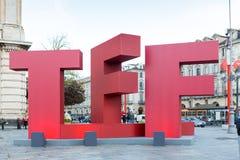 Torino ekranowy festiwal 2016 Zdjęcie Royalty Free