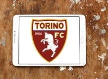 Torino F C Logo del club di calcio Immagini Stock Libere da Diritti