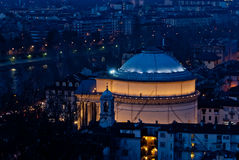 Torino Gran Madre di Dio Royaltyfria Bilder