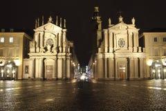 San Carlo Square Immagini Stock