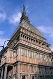 Torino, Italia - talpa Antonelliana immagini stock libere da diritti