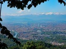 Torino. Landescape of italian town, Torino Stock Photography