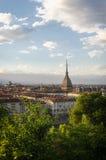 Torino panorama with  Mole Antonelliana Royalty Free Stock Image