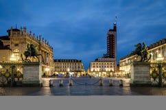 Torino piazza Castello Fotografia Royalty Free