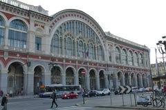 Torino. Piedmont, Italy - Porta Nuova train station Stock Images