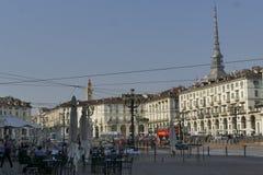 Torino. Piedmont, Italy - Vittorio Emanuele square Royalty Free Stock Image