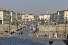 Torino. Piedmont, Italy - Vittorio Emanuele square Stock Photography