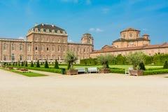 Torino, Piemonte, Italia, l'8 luglio 2017 Reggia di Venaria Reale, n Fotografie Stock