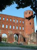 Torino Porta Palatina Foto de Stock Royalty Free