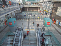 Torino Porta Susa station Stock Photos