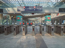 Torino Porta Susa station Royalty Free Stock Photo