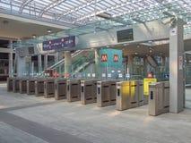 Torino Porta Susa station Stock Image