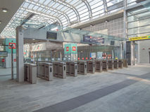 Torino Porta Susa station Royalty Free Stock Photos