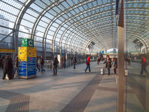 Torino Porta Susa station Royalty Free Stock Images