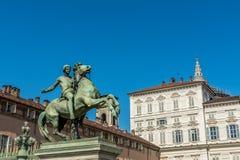 Torino quadrado real Imagem de Stock Royalty Free