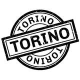 Torino rubber stamp Stock Images