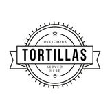 Toritillas vintage stamp sign Royalty Free Stock Photography