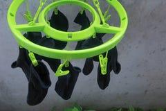 Torka för sockor Royaltyfri Foto