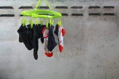 Torka för sockor Royaltyfria Bilder