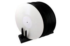 Torka för vinylrekord Arkivbild